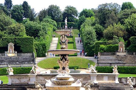 باغ های بوبولی,Boboli Gardens,باغ های بوبولی در فلورانس