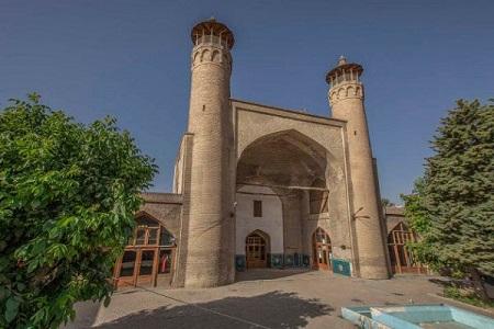 مسجد جمعه بروجرد,گنبد مسجد جامع بروجرد,مسجد جامع بروجرد لرستان