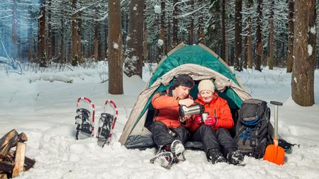 کمپ زدن در زمستان,روشهای گرم ماندن در سفرهای زمستانی,کمپینگ در زمستان