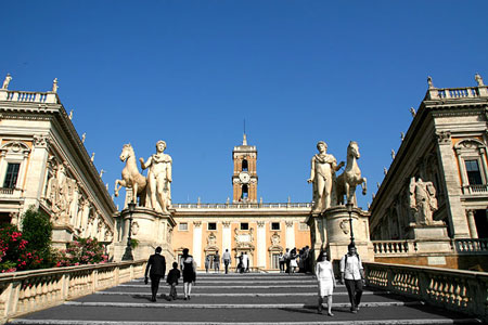 شهر رم,فهرست جاذبههای گردشگری در رم,کاپیتولینه هیل