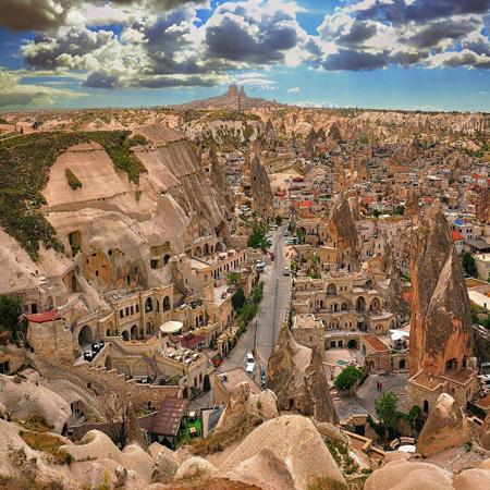 کاپادوکیه,شهر کاپادوکیه,دیدنی های ترکیه