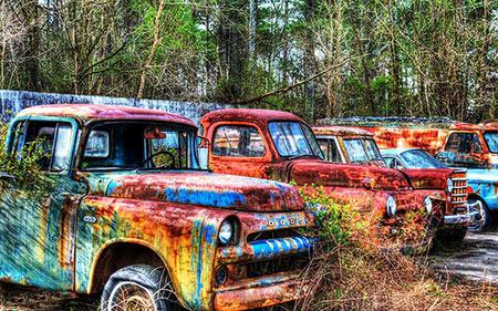 قبرستان خودرو,قبرستان وسایل نقلیه,قبرستان های عجیب و غریب