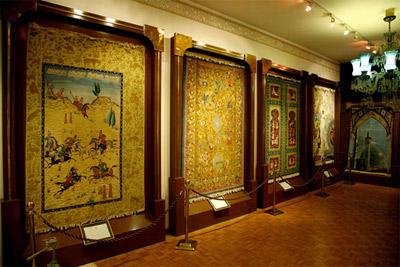 موزه فرش ایران,تصاویر موزه فرش ایران,عکس های موزه فرش ایران