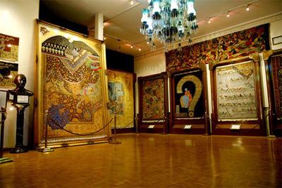 موزه فرش ایران,عکس های موزه فرش ایران,تصاویر موزه فرش ایران