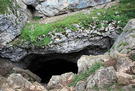 غار درفک, غار درفک گیلان,تصاویر غار درفک