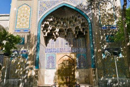 مدرسه چهارباغ,مدرسه چهارباغ اصفهان,تصاویر مدرسه چهارباغ