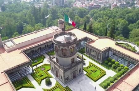 قلعه چپولتپک,قلعه چپولتپک در مکزیک,عکس های قلعه چپولتپک