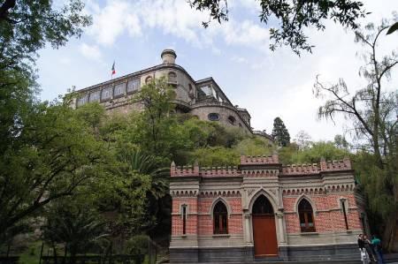 قلعه چپولتپک,تاریخچه قلعه چپولتپک,قلعه چپولتپک در مکزیک
