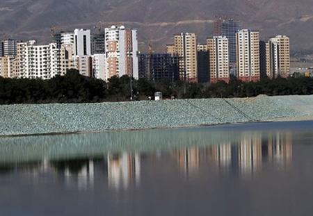 دریاچه چیتگر کجاست