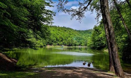 دریاچه چورت,دریاچه چورت مازندران,دریاچه چورت کجاست