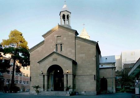 تصاویر کلیساهای تهران,عکس کلیساهای تهران,کلیسای مریم مقدس