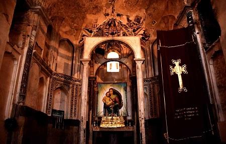 کلیسا در تهران,نام و نشان کلیساهای تهران,کلیسای استپانوس مقدس