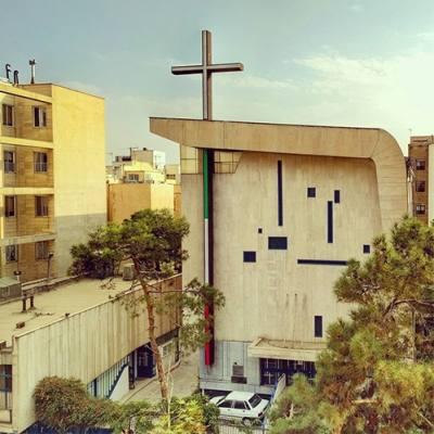 عکس های کلیسا در تهران,کلیساهای تهران,کلیسای توما
