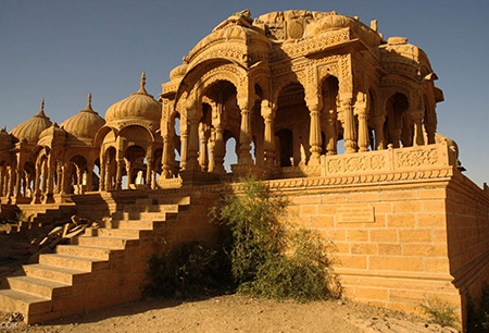 جیسلمیر,جیسلمیر از مکانهای تاریخی هند,عکس های جیسلمیر