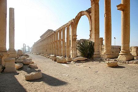 پالمیرا,شهر تدمر,شهر باستانی پالمیرا