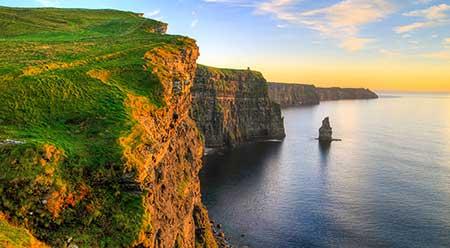 صخره های موهر,صخره های موهر در ایرلند,عکس های صخره های موهر