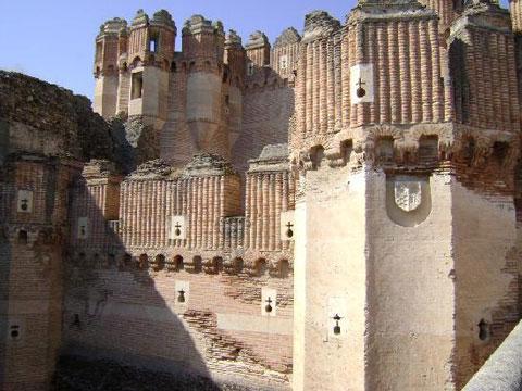 قلعه کوکا,قلعه کوکا اسپانیا,اسپانیا