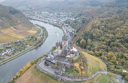 قلعه کوکهم,قلعه کوکهم در آلمان,عکس های قلعه کوکهم