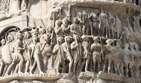 ستون مارکوس اورلیوس,تاریخچه ستون مارکوس اورلیوس,عکس های ستون مارکوس اورلیوس