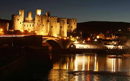 قلعه کانوی,تصاویر قلعه کانوی در ولز,سال ساخت قلعه کانوی