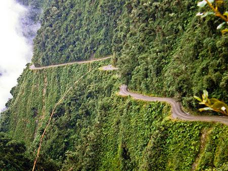 مکانهای بسیار خطرناک در جهان,مکانهای گردشگری خطرناک در دنیا,عجایب گردشگری