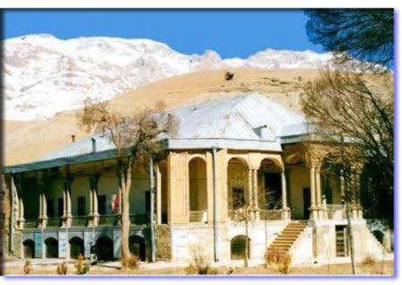 قلعه زیبای  دزک چهارمحال و بختیاری