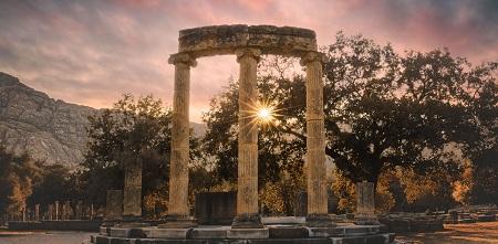 بنای معبد دلفی, دسترسی به معبد دلفی, معبد دلفی خودت را بشناس