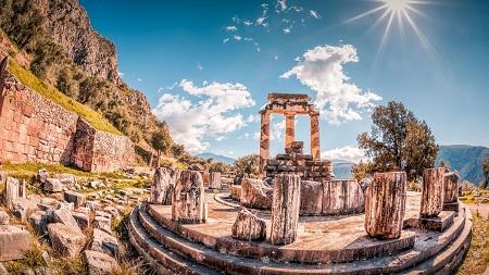 عکس های معبد دلفی, معبد دلفی کجاست, پیشگوی معبد دلفی