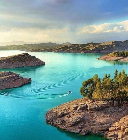 جاذبه های توریستی دزفول،جاذبه های تاریخی دزفول,دریاچه شهیون