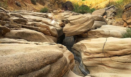 دزفول,مکان های دیدنی دزفول,دره ارواح