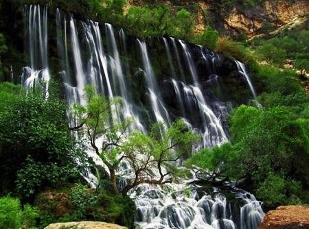 جاذبه های توریستی دزفول،جاذبه های تاریخی دزفول,آبشار شوی