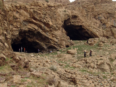 غار دو اشکفت,عکس های غار دواشکفت,غار دو اشکفت در کرمانشاه