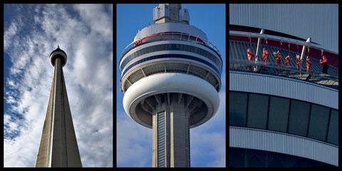 مسیر پیاده روی برج cn,جاهای دیدنی تورنتو,تورنتو