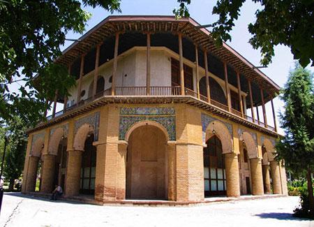 قزوین,آثار تاریخی قزوین,کاخ چهلستون