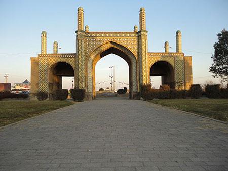 قزوین,آثار تاریخی قزوین,دروازه تهران قدیم