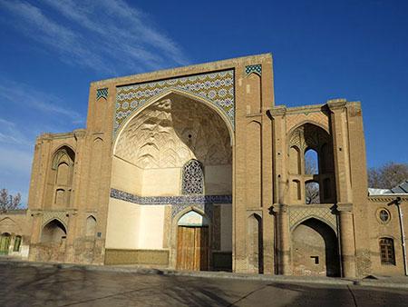قزوین,آثار تاریخی قزوین,سردر عالیقاپو و خیابان سپه