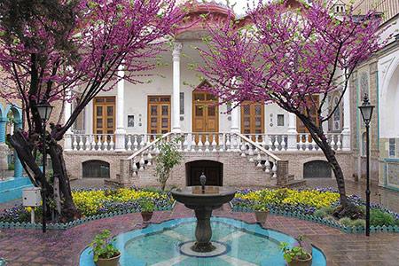آثار تاریخی تهران,بناهای تاریخی تهران,خانه تاریخی مقدم تهران