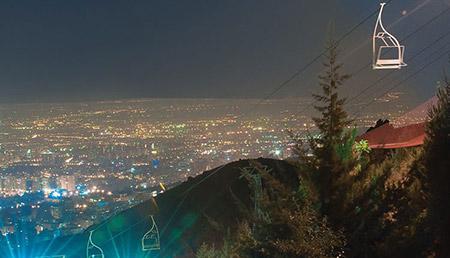 بام تهران,بام تهران کجاست,تله سیژ بام تهران