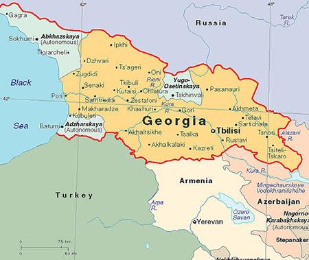 مکان های تفریحی گرجستان,مکان های دیدنی گرجستان,مقاصد گردشگری گرجستان
