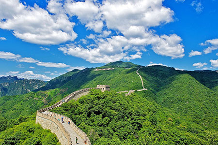 جاذبه های جهان,مکان های تفریحی جهان,دیوار چین