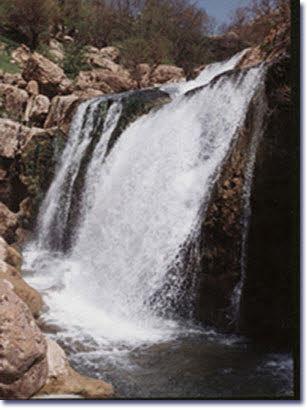 آبشار چکان الیگودرز