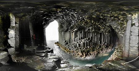 غار فینگال, غار فینگال اسکاتلند,عکس های غار فینگال