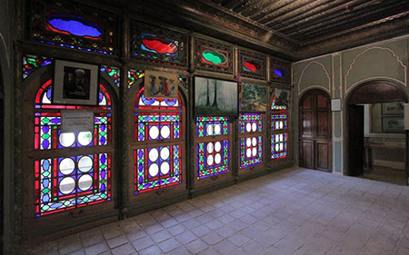 خانه فروغ الملک شیراز, موزه هنر مشکین فام, عکس های خانه فروغ الملک شیراز