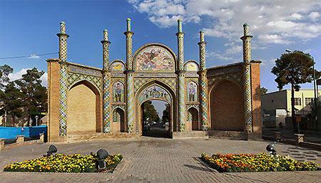 دروازه ارگ سمنان,عکس های دروازه ارگ سمنان,تصاویر دروازه ارگ سمنان