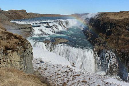آبشار گولفوس,آبشار گولفوس کجاست,تصاویر آبشار گولفوس