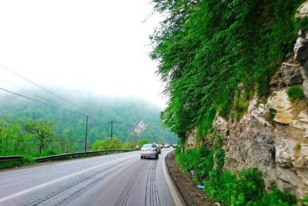 جاده هراز,جاذبههای جاده هراز,تاریخچه جاده هراز