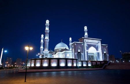 مسجد نور آستانه,مسجد نور در قزاقستان,عکس های مسجد نور در قزاقستان