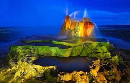 عجیب ترین آب گرم دنیا,آبگرم پرواز,آب گرم ایالت نوادای آمریکا