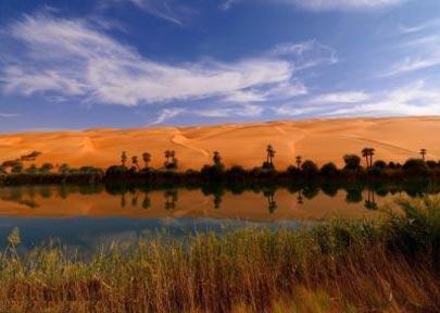 دریاچه اوباری,لیبی,دریاچه اوباری در لیبی