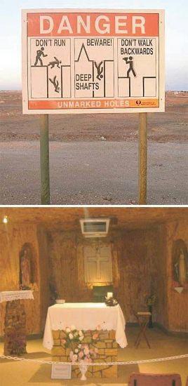 عجایب گردشگری,مکان زیرزمینی عجیب,عجیب ترین اماکن زیرزمینی دنیا